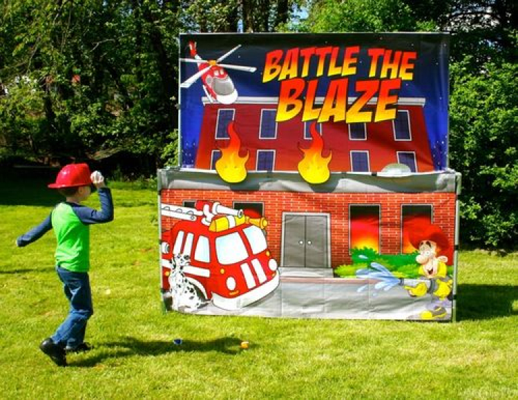 Battle the Blaze ($50 off with Bounce/Slide Rental)